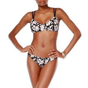 NEW Bikini Nation Floral Print Swimsuit Bikini Set